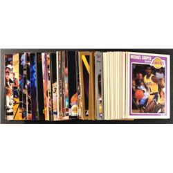 72  --  89 - 98 LA Lakers cards all different.