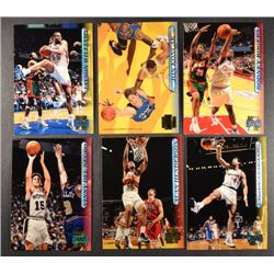 187  --  96 - 97 Stadium Club, duplicates, RC, and NBA all stars.