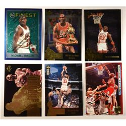 6  --  95 - 97 Misc. Jordan Cards, 96 Finest, 95 Upper Deck,