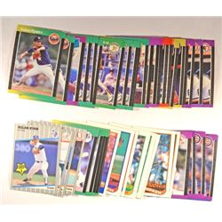 45  --  1989 Baseball Stars and Rookies, N. Ryan Fleer Update,