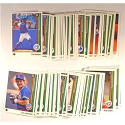 87  --  1989 Upper Deck Baseball Cards with RC and duplicates.