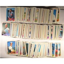 388  --  1989 Topps Baseball Cards with All Stars, RC, HOF, and some duplicates.