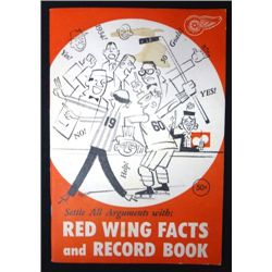 1960/61 Detroit Red Wings Facts and Record Book,