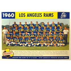 1960 Flagstaff Beer Los Angeles Rams Photo
