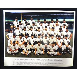 1959 Original Chicago White Sox Color Team Photo