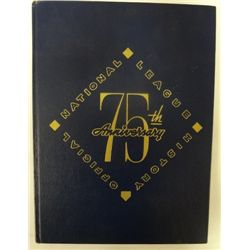 1951 Official National League History 75th Anniv Book