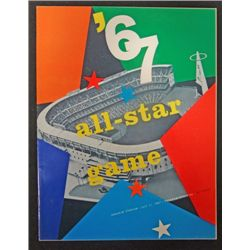 1967 All Star Game Program