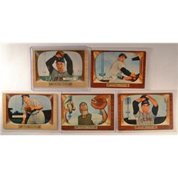 5  -  1955 Bowman Cards EX or Better.