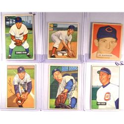 Bowman Baseball Lot (6 cards)   Nice EX - EM.