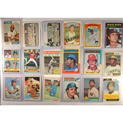 1970's Topps Baseball Star Card Lot (18 cards) Nice EM-NM only few EX+