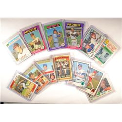 1970's Topps Baseball Star Card Lot (13 cards)   Nice EX or Better.