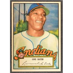 1952 Topps #24  Luke Easter  Red Back  EX+