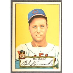 1952 Topps #77  Bob Kennedy  Red Back  EX