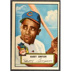1952 Topps #193  Harry Simpson (R)  EX