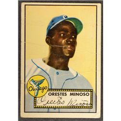 1952 Topps #195  Minnie Minoso (R)  FAIR