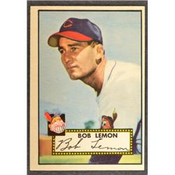 1952 Topps #268  Bob Lemon  NM 75/25