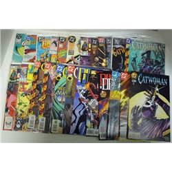 25-COMICS (Marvel & DC) 80's thru 2001. Cover Value $45.00