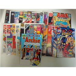 28-COMICS (Marvel, DC, & Archie) 80's thru 2003 Cover Value $45.00