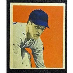 1949 BOWMAN #32  EDDIE YOST  ROOKIE EX-MT+