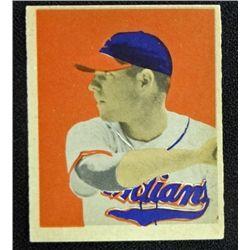 1949 BOWMAN #43  DALE MITCHELL  NM  O/C ROOKIE