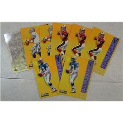 "7 - Collectors Choice ""Checklist"" Football Cards"
