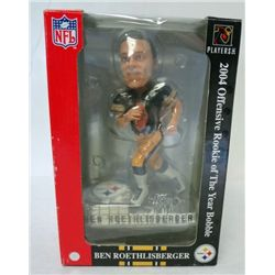 Ben Roethlisberger 2004 Offensive ROY Bobble Head ( Black Jersey)
