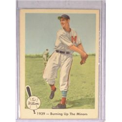 1959 Fleer #12 Ted Williams Burning Up the Minors
