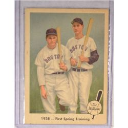 1959 Fleer #11 Ted Williams First Spring Training