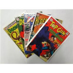 5-Vintage DC Comics, Top Gun, Doom Patrol & Blackhawk