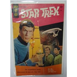 1967 Star Trek Gold Key Comic Book #1 Issue