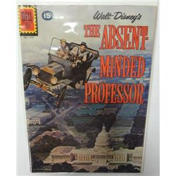 1961 Walt Disney's The Absent-Minded Professor Comic Book