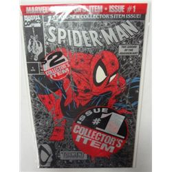 1990 Marvel Spider-Man #1 Silver Cover Issue
