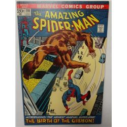 1972 The Amazing Spider-Man #110 Comic