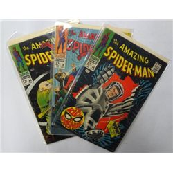 3-1968 the Amazing Spider-Man Comics