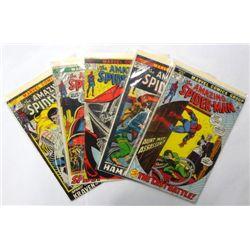 5-1972 the Amazing Spider-Man comic books