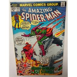 1973 July #122 the Amazing Spider-Man, Death of Green Goblin