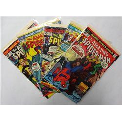 5-1974 the Amazing Spider-Man Comic Lot