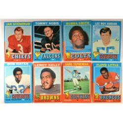 100  -  1971 Topps Football Cards - Mostly EX