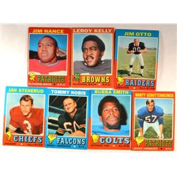 100  -  1972 Topps Football Cards.  Mostly EX-VGEX.