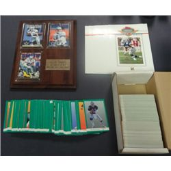 Football Lot - over 400 cards - Stadium Club Masters Photo's  plus more.