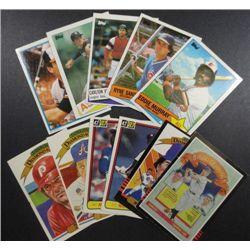11 misc. Baseball Stars from 1981-85, E Murray 85 Topps All Star,