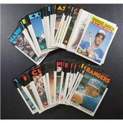79 - 1986 Topps Baseball Cards.  Nice Condition.