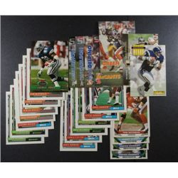 25 misc. Football Cards from 92 - 94 (including Emmit Smith Stadium Club 93)