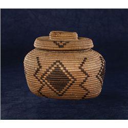 Apache Lidded Basket