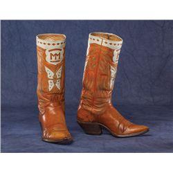 Montie Montana (1910-1999) Boots