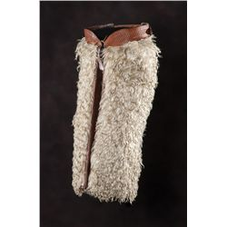 H.H. Heiser Denver Colo White Wooly Chaps