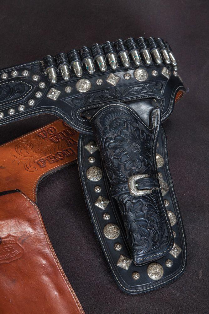 Edward Bohlin Buscadero Lone Ranger Double-Holster Gun Rig made for Clayton  Moore