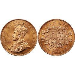 Canada $10 1914 Ex Gold Reserve PCGS MS63 Plus