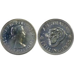 Australia 1955 Shilling PCGS PR 66
