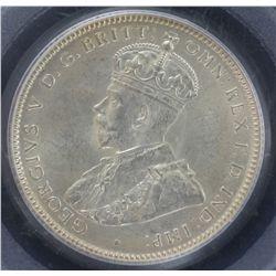 1916 Shilling PCGS MS64